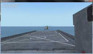 RotorLib CGF Shipdeck Landing