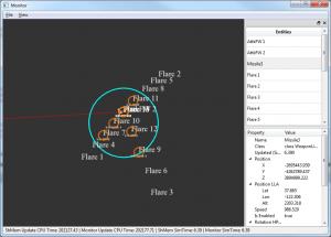 Monitor Sensor View